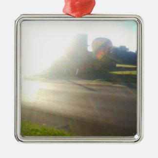 Morning Ride Christmas Ornament