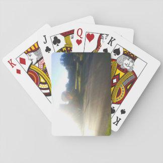 Morning Ride Playing Cards