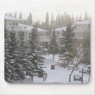 Morning Snow Mouse Pad