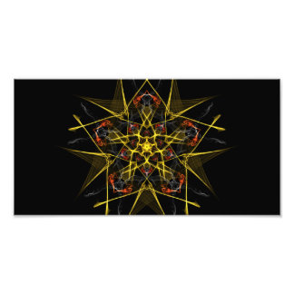 Morning Star Graphic Photographic Print