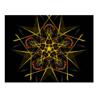 Morning Star Graphic Post Card