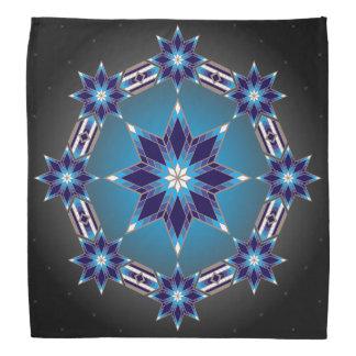 Morning Stars (Blue) Bandana