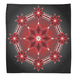Morning Stars (Red) Bandana
