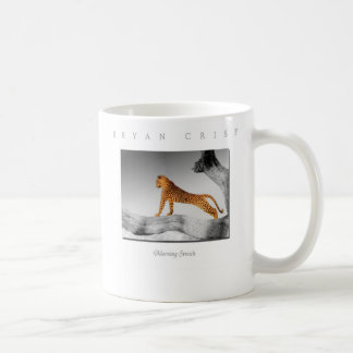Morning Stretch Leopard Photo Art Mug