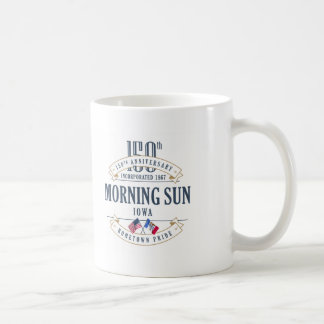 Morning Sun, Iowa 150th Anniversary Mug