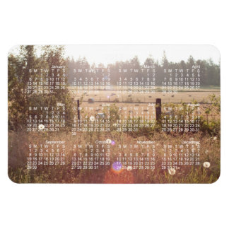 Morning Sunlight; 2013 Calendar Flexible Magnets