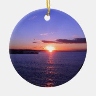 Morning Sunrise Christmas Ornament
