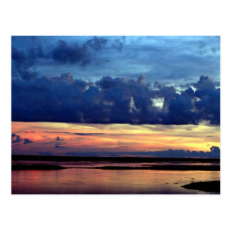 Morning sunrise, plains of Central Venezuela Postcard