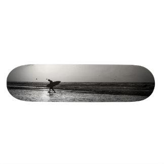 Morning Surfer Grayscale Skateboards