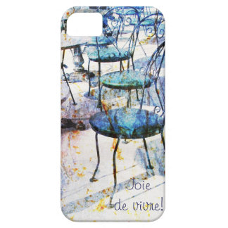 Morning vintage french cafe iPhone 5 cases