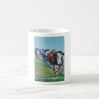 Morning Walk Basic White Mug
