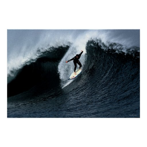 Morning Wave 36 x 24 Poster
