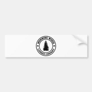 Morning Wood Lumber Co. Bumper Sticker