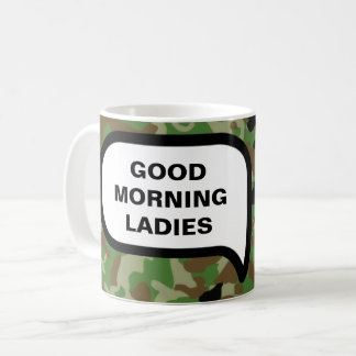 Mornings Are Pleasant: Except For Marines. Coffee Mug