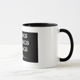 mornings coffee mug