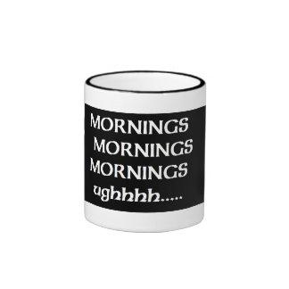 mornings coffee mug