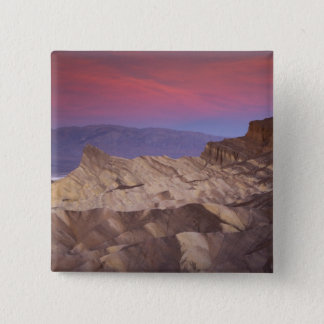 Mornings first light on  Zabriskie Point and 2 15 Cm Square Badge