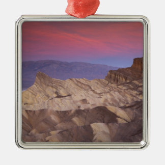 Mornings first light on  Zabriskie Point and 2 Christmas Ornament