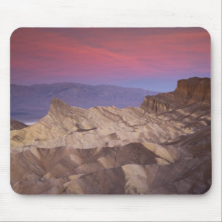 Mornings first light on  Zabriskie Point and 2 Mouse Pad