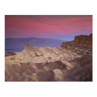 Mornings first light on  Zabriskie Point and 2 Postcard