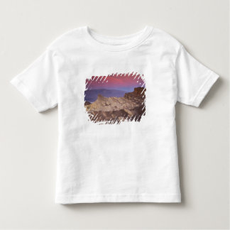 Mornings first light on  Zabriskie Point and 2 Toddler T-Shirt