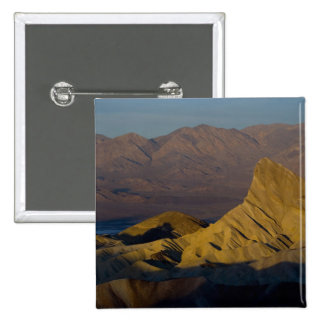 Mornings first light on  Zabriskie Point and 3 Pinback Button