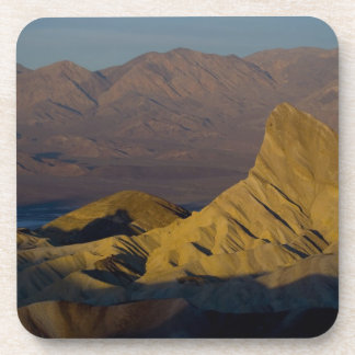 Mornings first light on Zabriskie Point and 3 Beverage Coaster