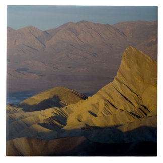 Mornings first light on  Zabriskie Point and 3 Large Square Tile