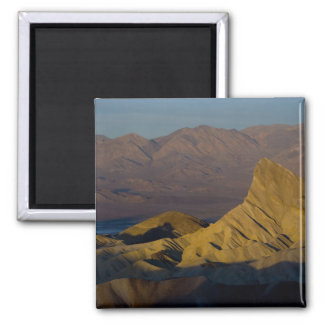 Mornings first light on  Zabriskie Point and 3 Fridge Magnets