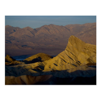 Mornings first light on  Zabriskie Point and 3 Postcard