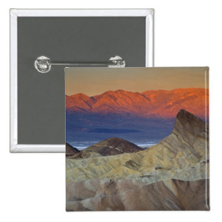 Mornings first light on  Zabriskie Point and 15 Cm Square Badge