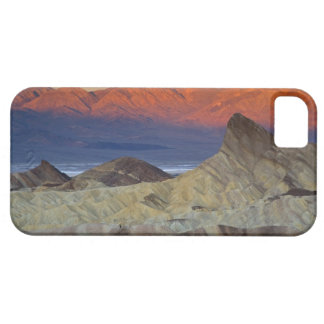 Mornings first light on  Zabriskie Point and iPhone 5 Cases