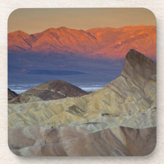 Mornings first light on Zabriskie Point and Beverage Coaster