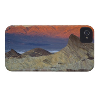Mornings first light on  Zabriskie Point and iPhone 4 Case-Mate Cases
