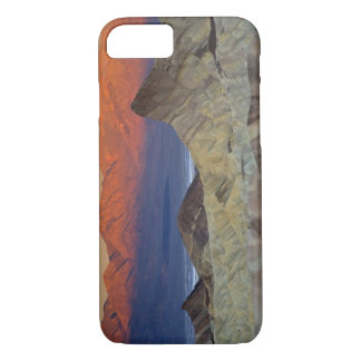 Mornings first light on  Zabriskie Point and iPhone 7 Case