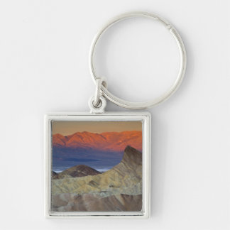 Mornings first light on  Zabriskie Point and Keychain