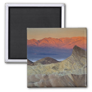 Mornings first light on  Zabriskie Point and Magnet
