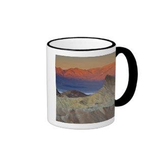 Mornings first light on  Zabriskie Point and Mug