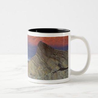 Mornings first light on  Zabriskie Point and Mugs