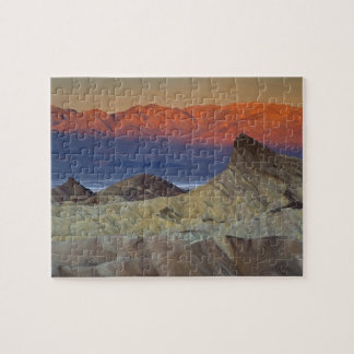 Mornings first light on  Zabriskie Point and Puzzles