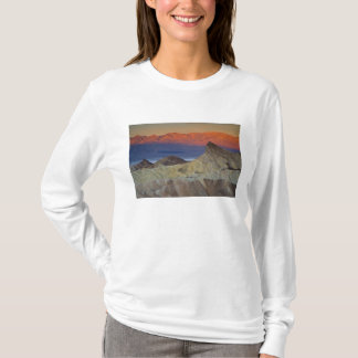 Mornings first light on  Zabriskie Point and T-Shirt