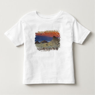 Mornings first light on  Zabriskie Point and Toddler T-Shirt