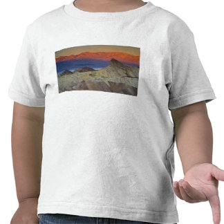 Mornings first light on  Zabriskie Point and T Shirt