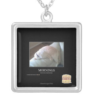 Mornings Silver Plated Necklace