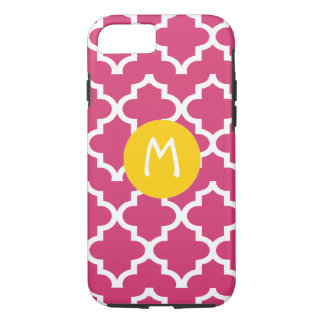 Moroccan Any Color Personalized Monogram iPhone iPhone 7 Case