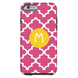Moroccan Any Color Personalized Monogram iPhone Tough iPhone 6 Case