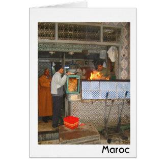 Moroccan BBQ Card