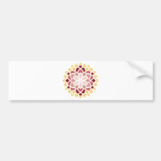 Moroccan Bloom Bumper Sticker