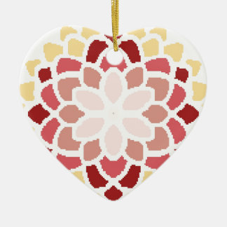 Moroccan Bloom Christmas Ornament