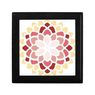 Moroccan Bloom Small Square Gift Box